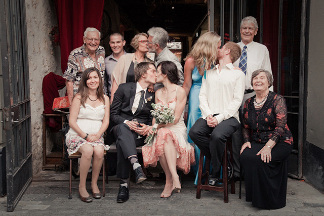 family-kissing-group-iheartweddings